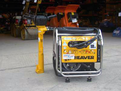 JCB Beaver Hydraulic Power Pack (Petrol) Comes With an Anti Vibration Breaker