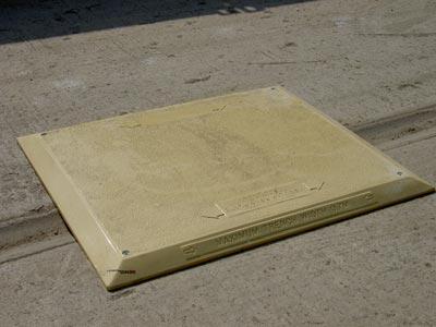 GRP Heavy Duty Road Plate (1400mm x 1200mm)