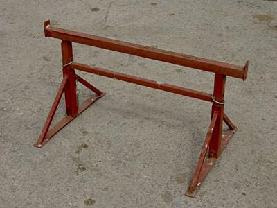 "Adjustable Steel Trestle size no.1 - 1'9"" to 2'6"""