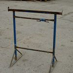 "Adjustable Steel Trestle size no.3 - 3'6"" to 6'0"""