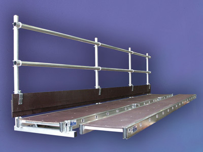 Staging Handrail System
