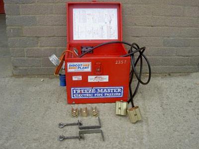 Pipe Freezer Kit, electric
