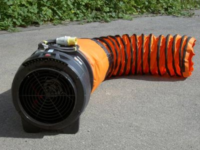 Fume Extractor comes with 5m ducting