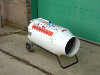 260,000btu Propane Space Heater