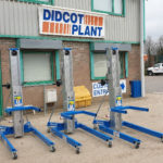 Three new Genie SLA-15 Superlifts join the Didcot Plant Hire Fleet