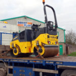 New Bomag 120AD-5 Arrives at Didcot Plant