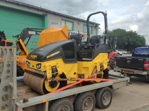 New Bomag120AD-5 Roller available for hire from Didcot Plant