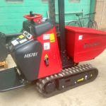 Hi-Tip Power Barrow available for hire from Didcot Plant