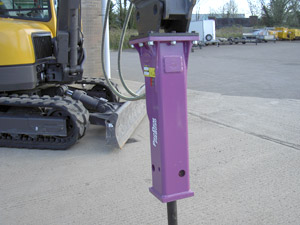 Prodem Hydraulic Breaker - Available from Didcot Plant