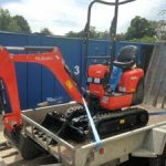 Kubota Mini Excavator available for hire from Didcot Plant
