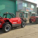Telehandler Telescopic Forklifts available for hire from Didcot Plant
