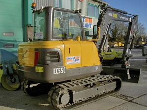 Volvo EC55C 5-tonne Excavator