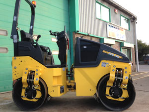New Bomag BW120 AD-5 double drum roller
