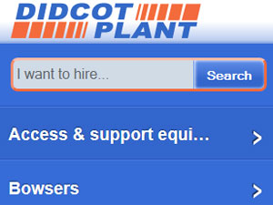 Didcot Plant mobile website