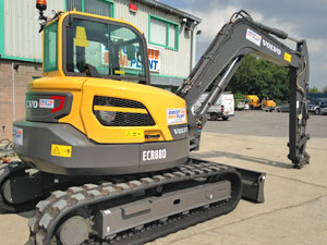 New Volvo 9 tonne Digger