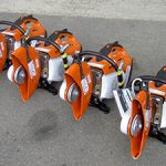The range of Stihl TS410 Disc Cutters available from Didcot Plant