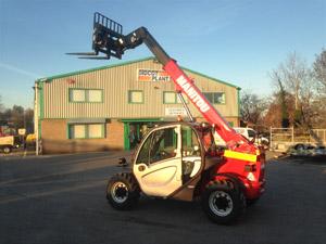 Manitou MT625 6m Telehandler Forklift