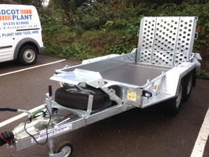 Ifor Williams GH94G plant trailer