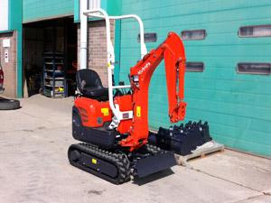 New Kubota K008 mini excavator