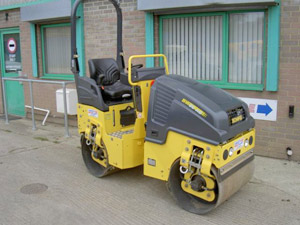 New Bomag 80AD-5 roller