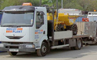 Didcot Plant Delivery Lorry