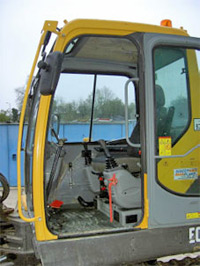 Volvo 5-Tonne Excavator Driver's Cab