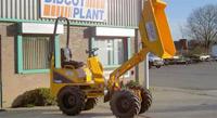 Thwaites 1-tonne Hi-Tip Dumper in use