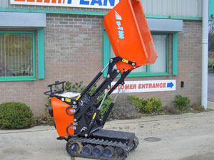 Free delivery on Skip Loading Power Barrow hires in May
