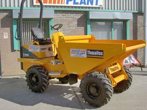 Thwaites Alldrive 2-tonne front tip dumper