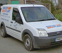 Didcot Plant mobile fitter van