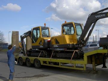 New 5-tonne Volvo Excavators
