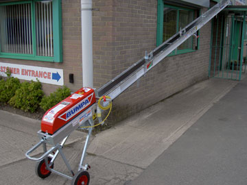 Bumpa Hoist now available to hire from Didcot Plant