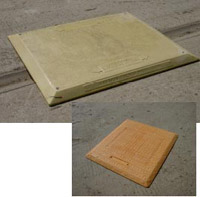 GRP road plates and trench covers