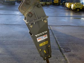 Volvo HB260 Hydraulic Breaker Available for HIre