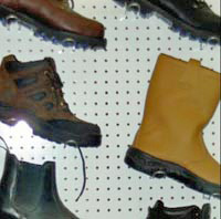 Photo of our range of boots