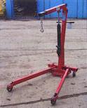 SC10 1 ton folding engine crane