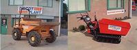 Photo of Thwaites 6-tonne Alldrive Dumper and Honda Powered Wheelbarrow