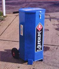 Bundrums - 120 litre mobile bunded fuel drums