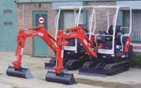 1.5-tonne Kubota KX36-3 Mini Excavators