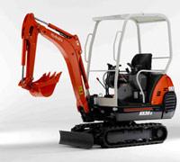 Kubota KX36-3 1.5-tonne mini excavator