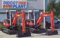 3-tonne Kubota KX71-3 Mini Excavators