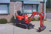 Kubota K008-3 0.8-tonne mini excavator