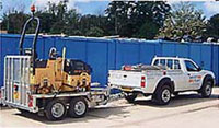 Photo of Nissan D22 4x4 with trailer