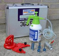 Porcelain drilling kit