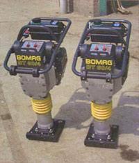 Bomag BT60/4 4-stroke petrol rammers