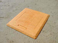 GRP Light Duty Trench Cover