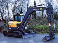 Volvo ECR88 8.2 tonne mini excavator