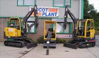 Volvo Excavators at Didcot Plant