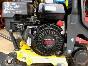Honda compactor plate engine