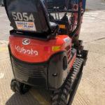Back View of the New Kubota K008-3 Micro Excavator